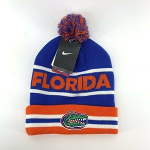 Nike Florida Gators Pom Pom Beanie NEW